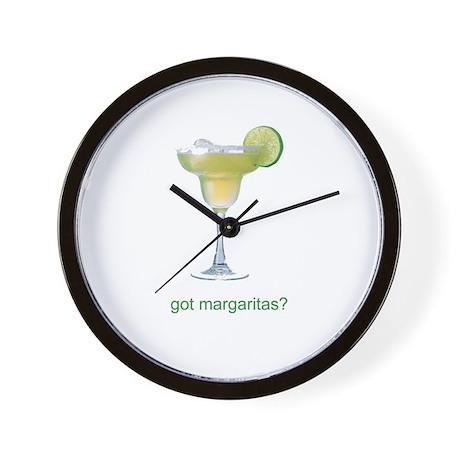 got margaritas? Wall Clock