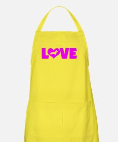 LOVE DACHSHUND (WIREHAIRED) Apron
