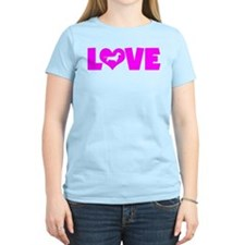 LOVE DACHSHUND (SMOOTH) T-Shirt