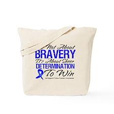 Bravery Win Colon Cancer Tote Bag