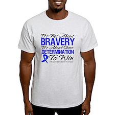 Bravery Win Colon Cancer T-Shirt