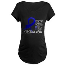 Never Give Up Colon Cancer T-Shirt