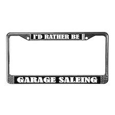 Garage Sale License Frame