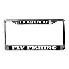 Fly Fishing License Frame