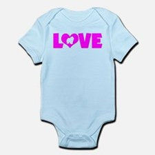 LOVE CHOW CHOW Infant Bodysuit
