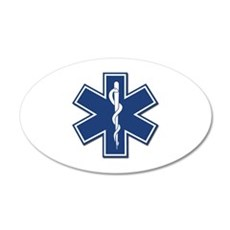 EMT Rescue 22x14 Oval Wall Peel