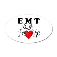 EMT For Life Wall Decal
