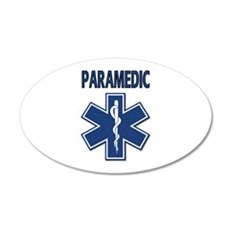 Paramedic EMS 20x12 Oval Wall Decal