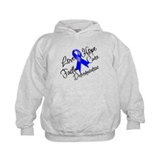 Love Hope Colon Cancer Hoodie