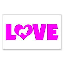 LOVE CAVALIER Decal