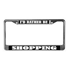 Shopping License Frame
