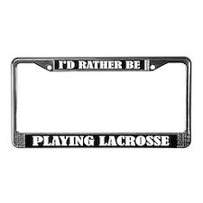 Lacrosse License Frame