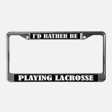 Lacrosse License Frame
