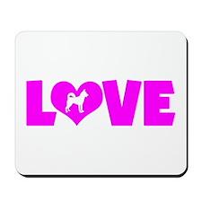 LOVE CANAAN DOG Mousepad