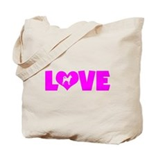 LOVE CANAAN DOG Tote Bag