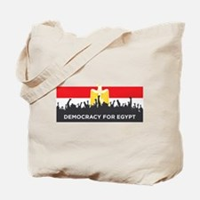 Democracy for Egypt Tote Bag