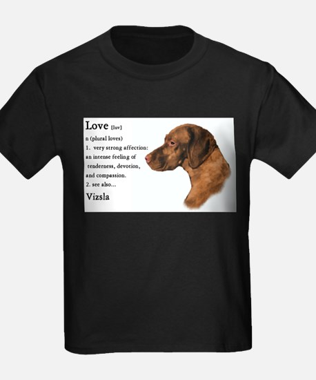 Vizsla Love Is T-Shirt