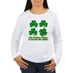 One of these things... Women's Long Sleeve T-Shirt