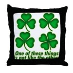 One of these things... Throw Pillow