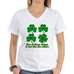 One of these things... Women's V-Neck T-Shirt