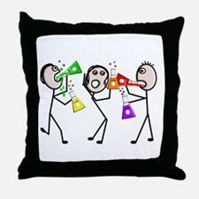 Professional Occupations III Throw Pillow