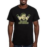 No Beer Left Behind Men's Fitted T-Shirt (dark)