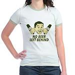 No Beer Left Behind Jr. Ringer T-Shirt