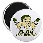 """No Beer Left Behind 2.25"""" Magnet (100 pack)"""