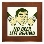 No Beer Left Behind Framed Tile