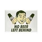 No Beer Left Behind Rectangle Magnet (10 pack)