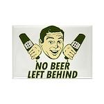 No Beer Left Behind Rectangle Magnet (100 pack)