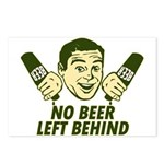 No Beer Left Behind Postcards (Package of 8)