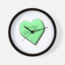 Irish Dancer Wall Clock