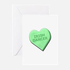 Irish Dancer Greeting Cards (Pk of 10)