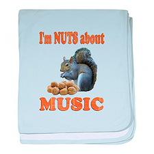 Music baby blanket
