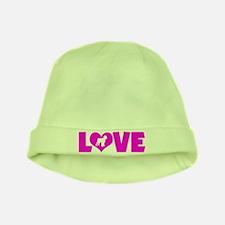 LOVE BLACK RUSSIAN baby hat