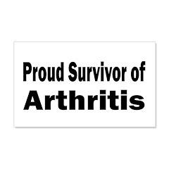 Arthritis 22x14 Wall Peel