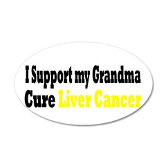 Liver Cancer 38.5 x 24.5 Oval Wall Peel