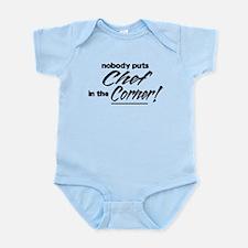 Chef Nobody Corner Infant Bodysuit