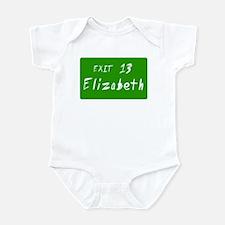 Exit 13, Elizabeth, NJ Infant Creeper