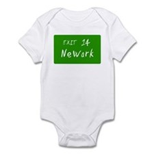 Exit 14, Newark, NJ Infant Creeper