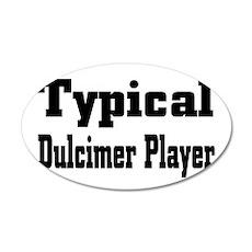 Dulcimer 38.5 x 24.5 Oval Wall Peel