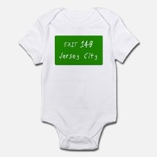 Exit 14B, Jersey City, NJ Infant Creeper