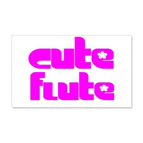 Flute Master 22x14 Wall Peel