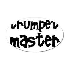 Trumpet Master 22x14 Oval Wall Peel