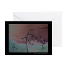 Wind Farm 1 Greeting Card