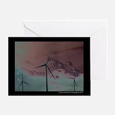 Wind Farm 1 Greeting Card