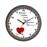 Autism Wall Clocks