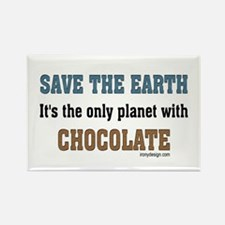 Save the earth! It's the only Rectangle Magnet