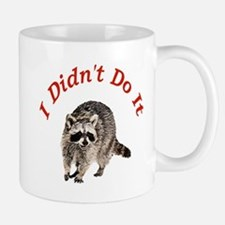 Raccoon Humorous Small Small Mug